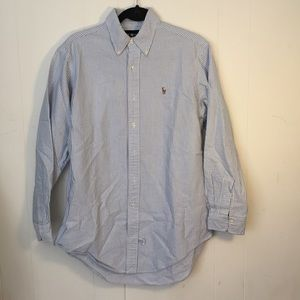 Ralph Lauren striped button down shirt